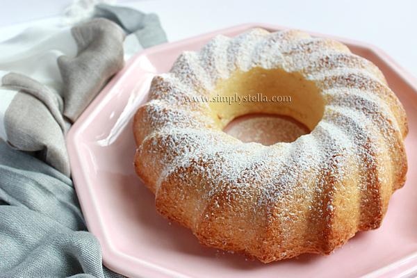 Ciambellone Con Burro E Latte.Simplystella S Sketchbook Torta Soffice Al Latte Condensato